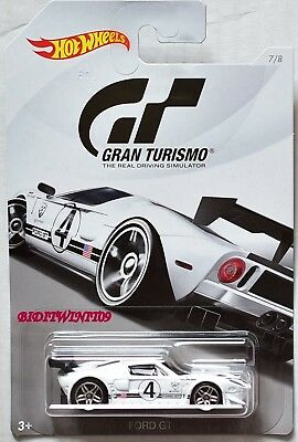 Hot Wheels Gran Turismo  Ford Gt White