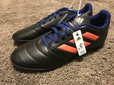 huge selection of b43f7 a5e9d ADIDAS WOMENS ACE 17.4 TF Soccer Shoe, Black/Easy Coral/Mystery women's 8.5  size