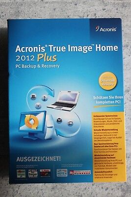 Acronis True Image Home 2012 Plus (1 PC) von Acronis | Software | neu