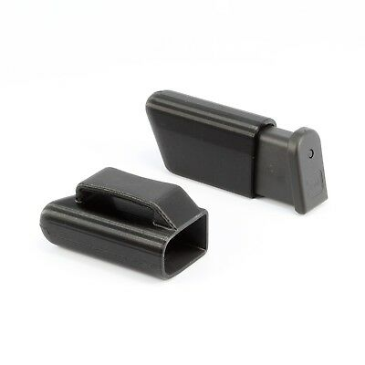 GLOCK 43 9MM MAG POUCH - RIGHTY Magazine Holder Fits Belts up to 1 5