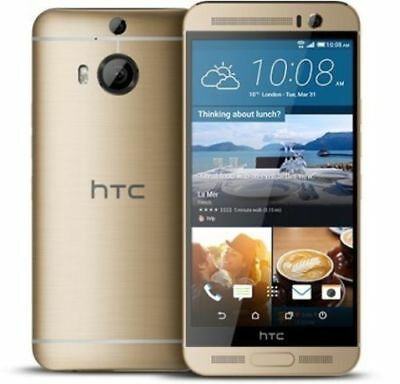 """Unlocked HTC One M9+ Plus 32GB 4G LTE 5.2"""" Android Smartphone Sliver/Gray/Golden"""