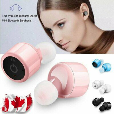 Mini Twins Bluetooth Earphones True Wireless Headphone Stereo Headset Canada