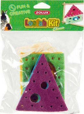 Jouets  Rongeurs Loofah Kit Cheese  Zolux