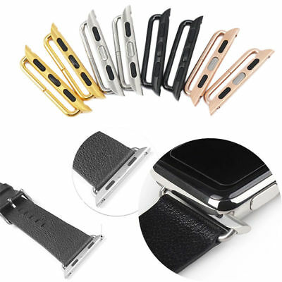 2X Watch Band Adapter Watchband Strap Connector 38/42mm For Apple iWatch Part