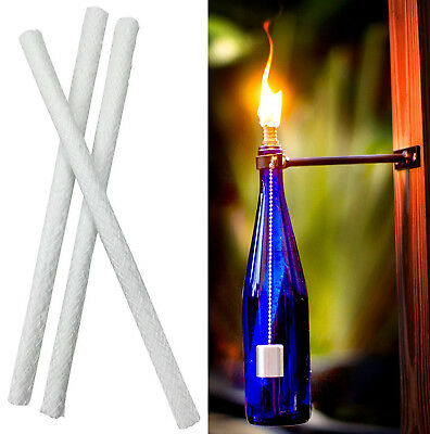 Outdoor Wine Bottle Light Fibergl Wicks For Tiki Kit H9po