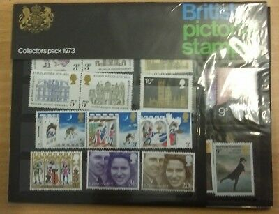 GB 1973 Royal Mail Collectors presentation year pack of commemorative stamps