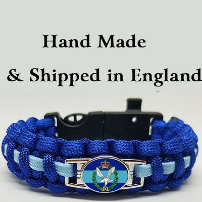 Army Air Corps Badged Survival Bracelet Tactical Edge.