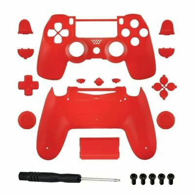 Brand New PS4 Slim/Pro JDS 040 V2 Controller Red Custom Replacement Full Shell w