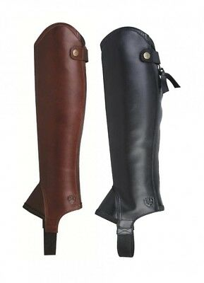 Ariat Concord Chaps Smooth Chocolate on Sale-10007083