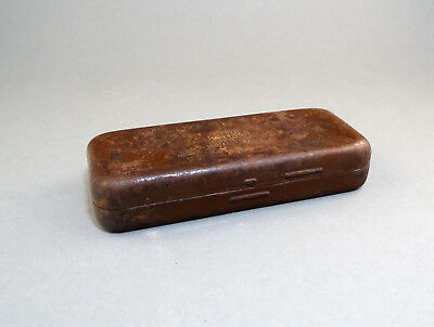 WW2 Tin Box Case Holder from Carl Zeiss Jena UMBRAL Glasses