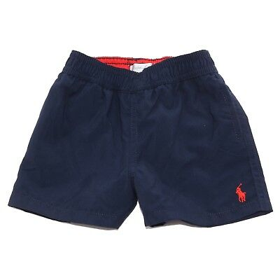 5774V costume bimbo RALPH LAUREN bermuda blue beachwear boy kid