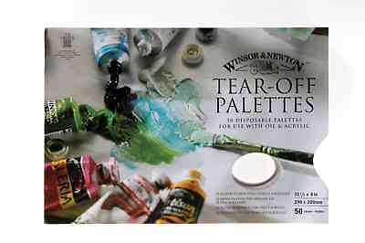 Winsor & Newton Tear Off Palette 11.5 x 8 in (290 x 200 mm) 50 Disposable Sheets