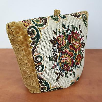 Tea Cosy With Embroidered Tapestry Detail