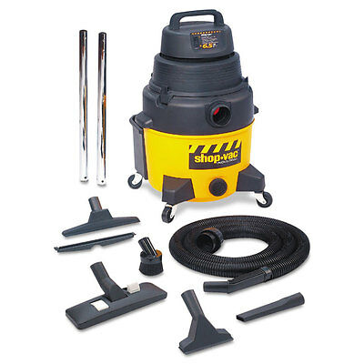 Shop-Vac Industrial Wet/Dry Vacuum 12gal 2.5hp Yellow/Black 9622110