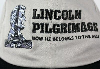 Lincoln Pilgrimage Boy Scouts Hat Cap President 70th Annual Old Salem Illinois