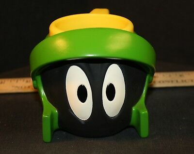 MARVIN the MARTIAN Plastic Drinking Cup/Mug 1995 Applause USED
