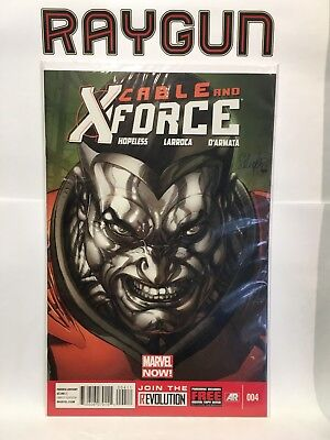 Cable and X-Force #4 NM- 1st Print Marvel Now! Comics
