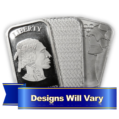 1 Troy oz Silver Bar .999 Fine Secondary Market