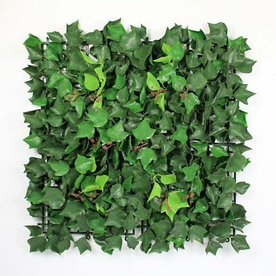 Artificial Ivy Fence, Garden Ivy Privacy Fence, Plastic Boxwood Hedges Panels
