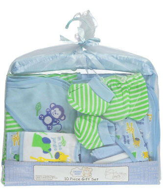 Snugly Baby 10-Piece Layette Baby Boy Gift Set (In The Jungle)