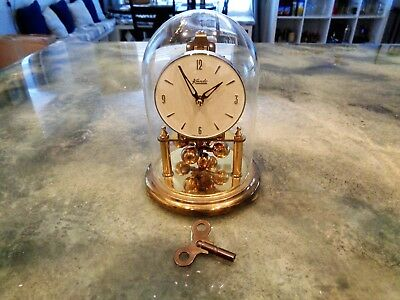 Vintage Kundo Kieninger Obergfell 400 Day Anniversary Mantel Clock West Germany