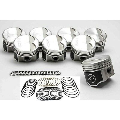 Speed Pro Chrysler/Dodge 340 Forged Flat Top Pistons+MOLY Rings Kit 1968-73 040