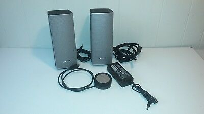 One BOSE companion 20 Multimedia speaker system Gold color