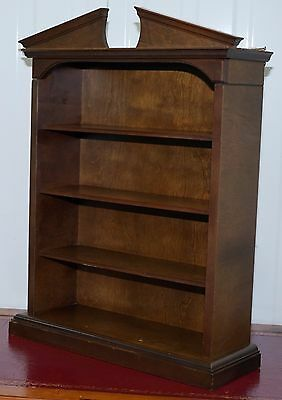 Miniature Regency Collectors Bookcase Wall Mounted Or Table Top Spice Shelf