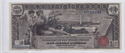 Series 1896 One Dollar Silver Certificate US Large Size Educational Note Fr 225