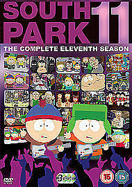 South Park - Season 11 re-pack DVD Brand New and Sealed 5014437139634
