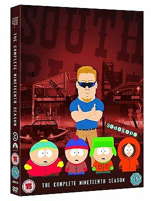 South Park - Season 19 DVD 2016 Brand New Sealed 5053083081348