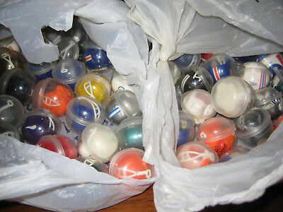 Vintage Lot of 50 Miniature NFL Gumball Football Helmets NEW UNOPENED