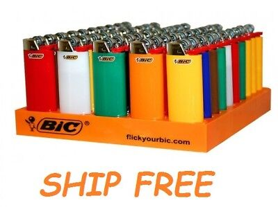 MINI Size BIC Lighters Cigarette Cigar Multi Purpose Assorted Color -Not Clipper