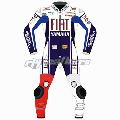 Yamaha  Motorbike Leather Suit Sports Racing Motorcycle Leather Suit All Size