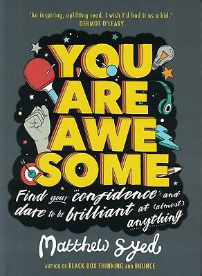 You Are Awesome by Matthew Syed NEW
