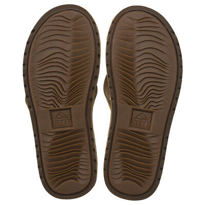 Reef Voyage LE Thongs in Brown