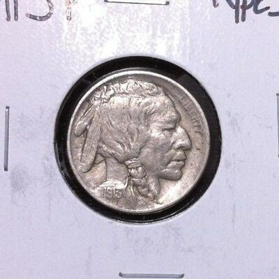 ~1913 Type 1 Buffalo Nickel~