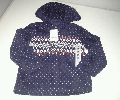 Carter's boys 3T hoodie pullover hooded jacket lightweight top NWT