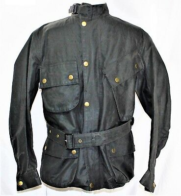 Barbour International Vintage 1960s Suit Wax Motorcycle Biker Jacket & Pants