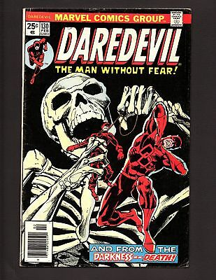 DAREDEVIL #130  And From the Darkness -- Death! FN