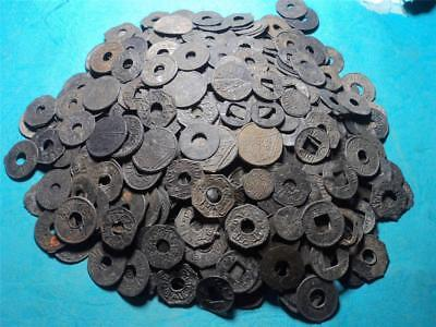 Indonesia Palembang Voc Colonial Sultan Mahmud Tin Coin 1000Pcs Xf+ Condition !!