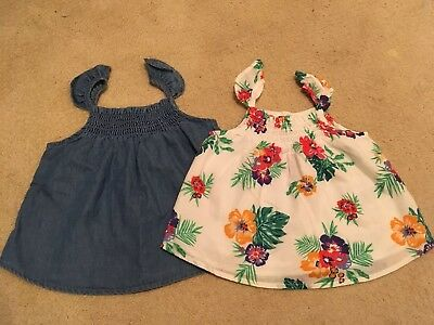 Nwt Lot Of Two Old Navy Summer Top Size 18-24