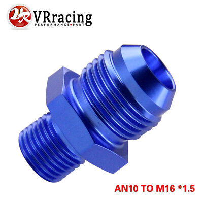 BLACK JIC Flare to 5//8 BSP BSPP STRAIGHT Hose Fitting Adapter 12 AN12 AN