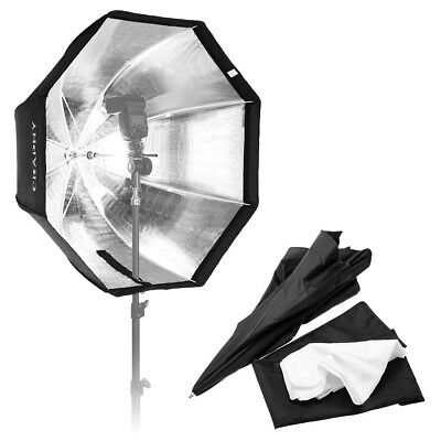 "Craphy 32 ""80cm Regenschirm Octagon Softbox Reflektor Photo Studio Tragbarer EU"