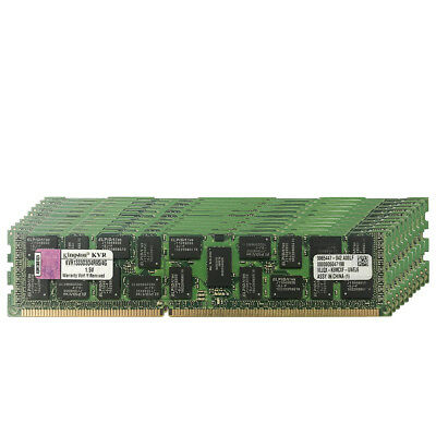 32GB 8X4GB PC3-10600R DDR3-1333Mhz 240Pin ECC REG Server Ram Memory For Kingston