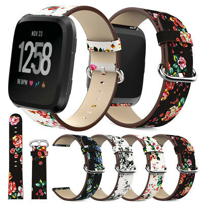 For Fitbit Versa Smart Watch Strap Milanese Loop Magnetic / Leather Replace Band