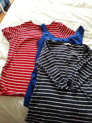 new look maternity bundle tops and leggings size 8 and 10