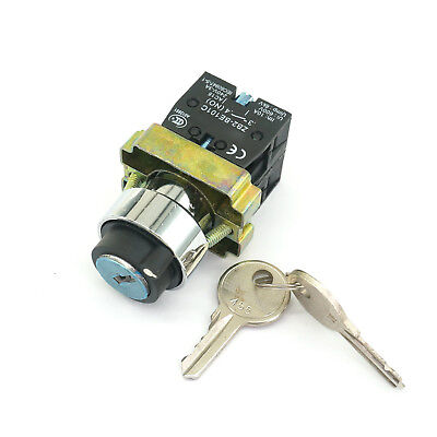 XB2BG45 1N//O 1N//C 2Position Momentary Key Select Selector Switch Replaces Tele