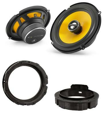 Skoda Octavia Mk2 04-13 JL Audio 17cm Front Door Speaker Upgrade Kit 225w