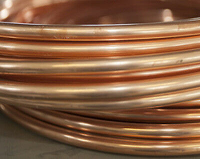 10mtr or 25mtr COPPER Tube Pipe PLUMBING COPPER PIPE Special Offer 6mm/8mm/10mm